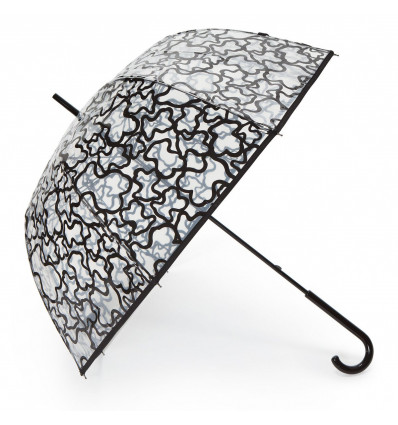 Paraguas largo Tous Kaos trasparente